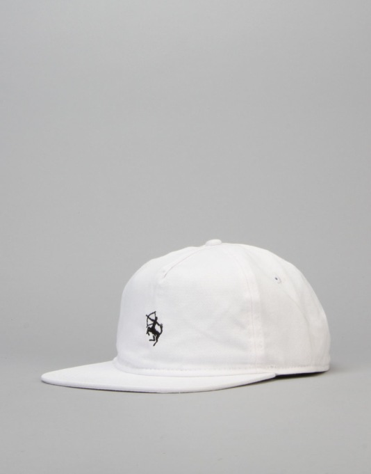 Route One Centaur Unstructured Cap - White