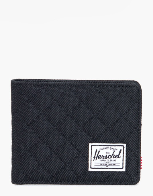 Herschel Supply Co. Quilted Roy Wallet - Black