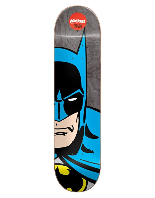 Almost x DC Comics Daewon Superhero Splitface Pro Deck - 8.25""
