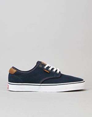 Vans Chima Ferguson Pro Skate Shoes - Midnight Navy/White