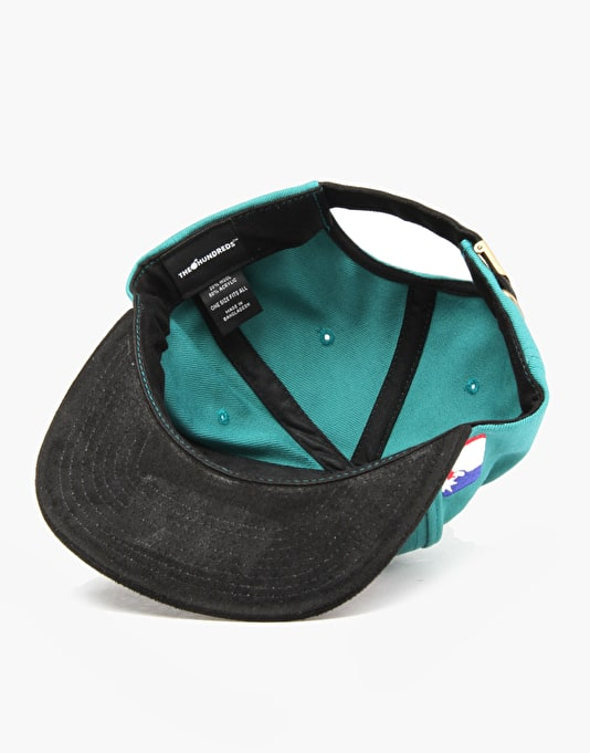 The Hundreds Team Two Snapback Cap - Turquoise