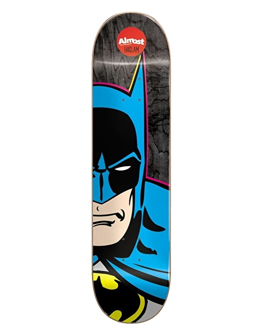 Almost x DC Comics Haslam Batman Split Face Pro Deck - 8.375""