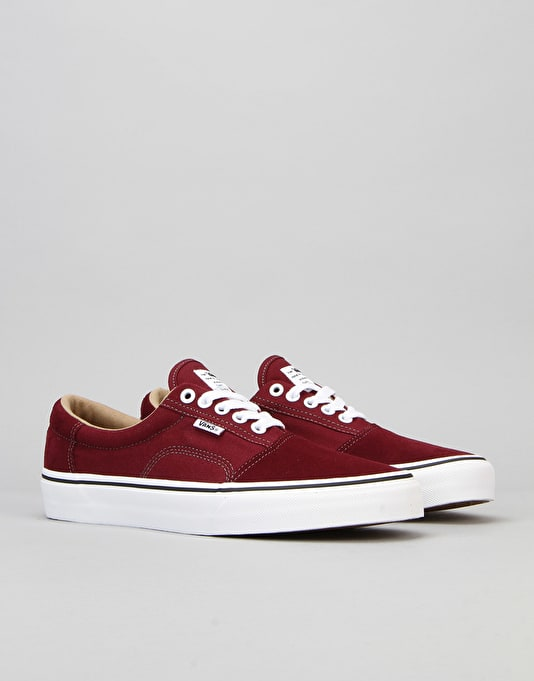 Vans Rowley Solos Pro Skate Shoes - Port Royale/White