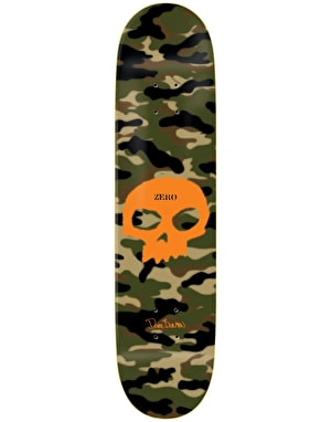 Zero Burman Camo Single Skull Impact Light Pro Deck - 8.5