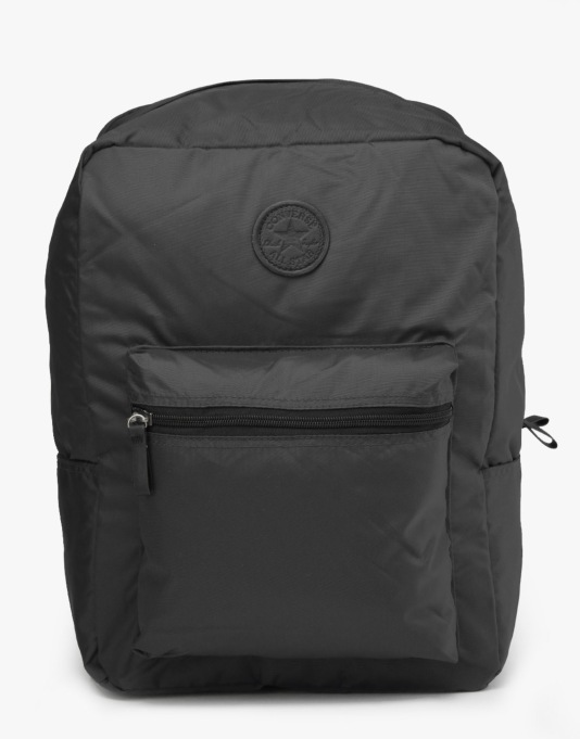 Converse Classic Nylon Backpack - Black