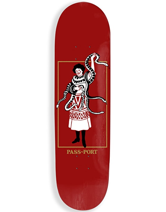 Pass Port Wild Women - Her Snakes Team Deck - 8""