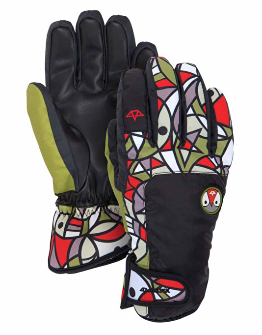 Celtek Faded 2016 Snowboard Gloves - Pendleton