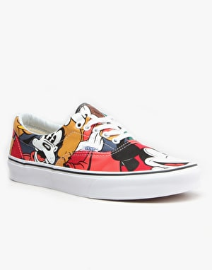 Vans Era Skate Shoes - (Disney) Mickey & Friends/Multi