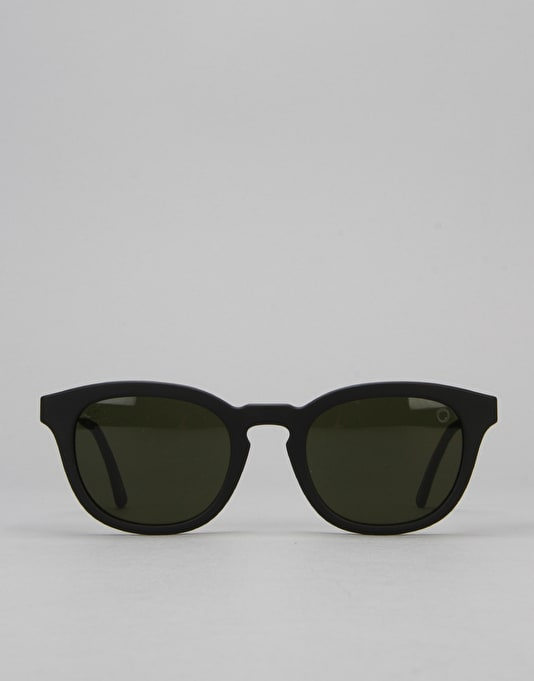 Electric LA Txoko Sunglasses - Matte Black/Medium Grey