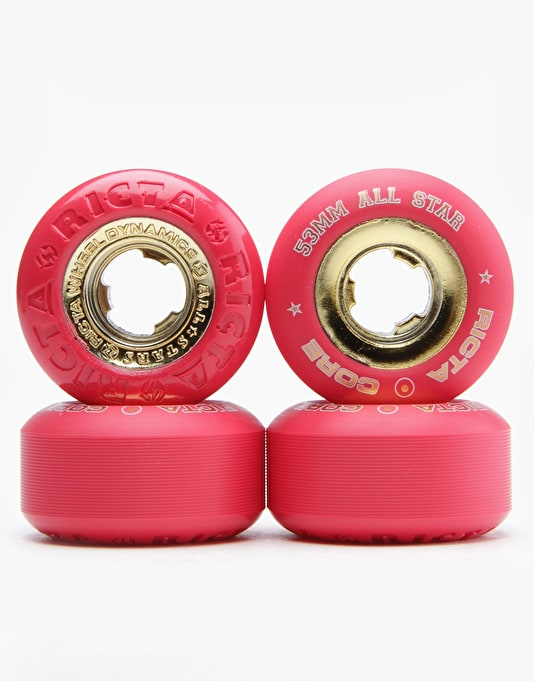Ricta All Star Chrome Core Team Wheel - 53mm