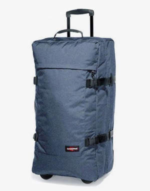 Eastpak Transverz Large Luggage Bag - Double Denim