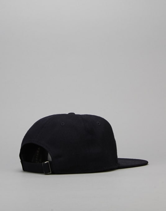 Route One Plank Unstructured Cap - Navy