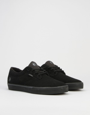 Etnies Jameson Vulc Skate Shoes - Black/Black