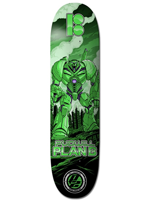 Plan B Pudwill Guardian P2 Pro Deck - 8.25""