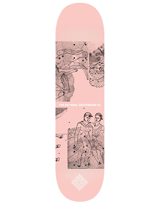 The National Skateboard Co. Universe Team Deck - 8.375""