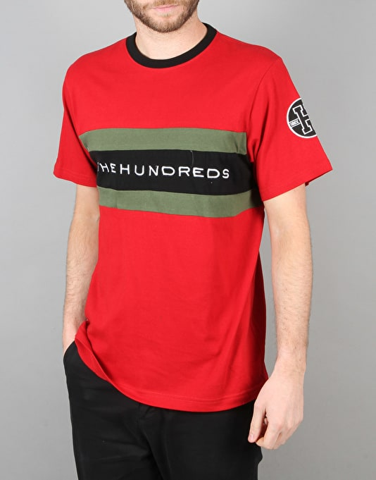 The Hundreds Hill T-Shirt - Red