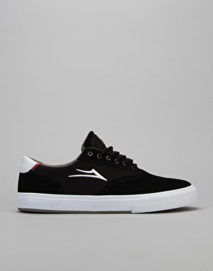 Lakai Mayfair Skate Shoes - Black Suede