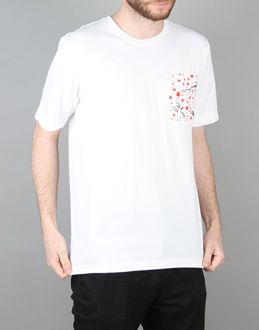 Nike SB Heavyweight Cherry Blossom Pocket T-Shirt - White