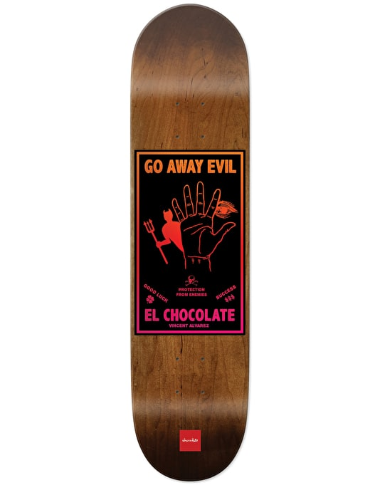 Chocolate Alvarez Black Magic Pro Deck - 8""