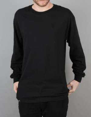 Route One Centaur 'Blackout' LS T-Shirt - Black