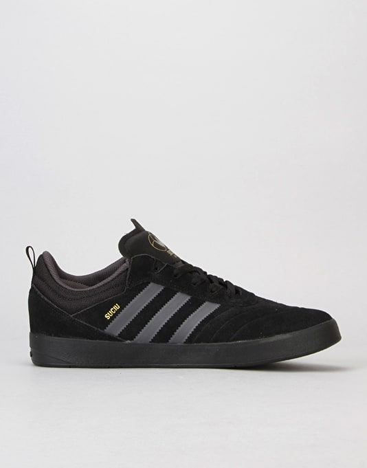 Adidas Suciu ADV Skate Shoes - Core Black/DGH Solid Grey/Core Black