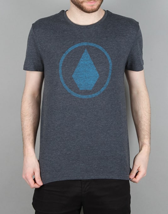 Volcom Solid Stone T-Shirt - Navy