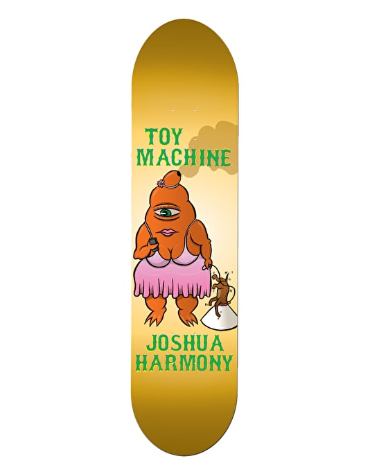 Toy Machine Harmony Fat Sect Skateboard Deck - 8.125""