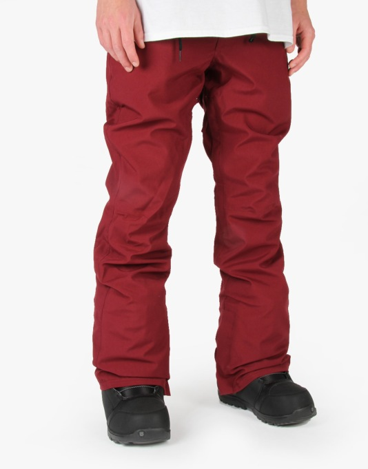 Thirty Two Wooderson 2016 Snowboard Pants - Burgundy