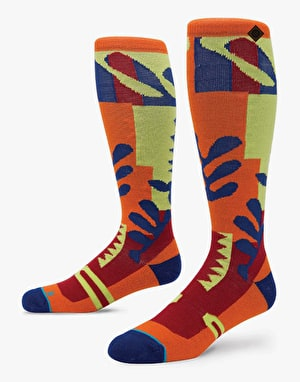 Stance C.O.P. 2016 Snowboard Socks - Orange