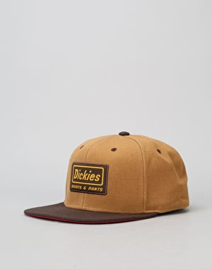 Dickies Jamestown Snapback Cap - Brown Duck