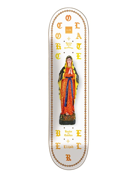 Chocolate Berle Saints Pro Deck - 8.125""