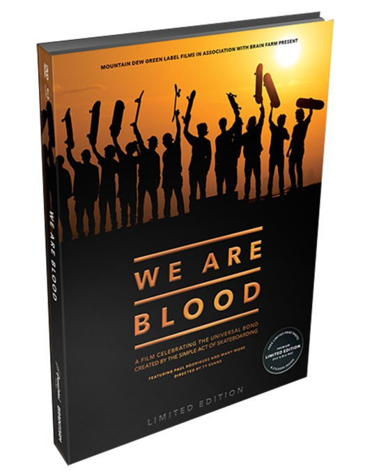 Brain Farm We Are Blood DVD & Blu-Ray