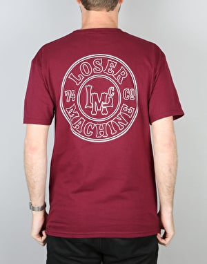 Loser Machine Slug T-Shirt - Burgundy