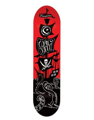 Foundation Duffel Pirate Ship Pro Deck - 8.125