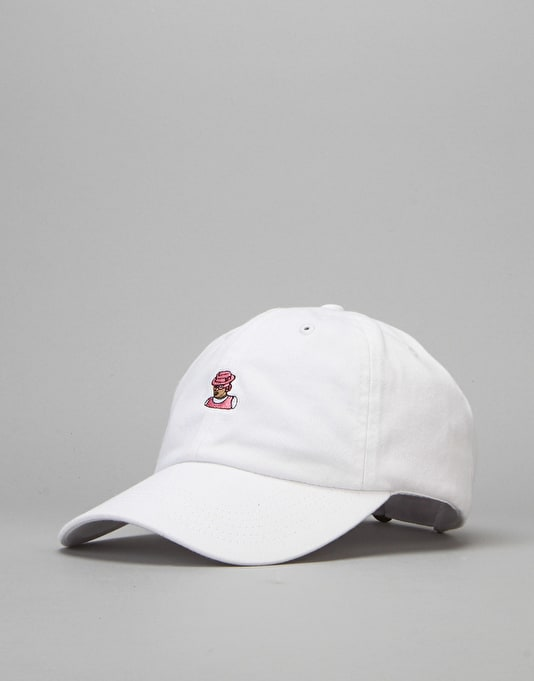 40's & Shorties Kells Unstructured Strapback Cap - White