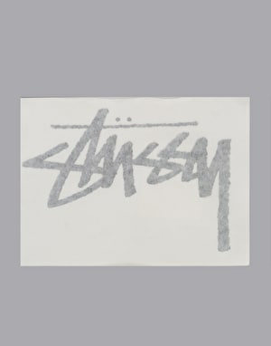 Stüssy Small Original Stock Decal - Black