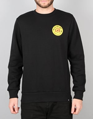 Element Sound System Crew Sweatshirt - Flint Black