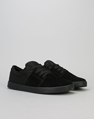 Supra Stacks II Skate Shoes - Black/Black