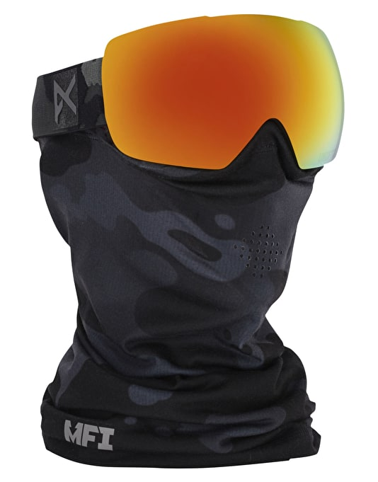Anon Mig 2016 Snowboard Goggles - Undefeated/Red Solex