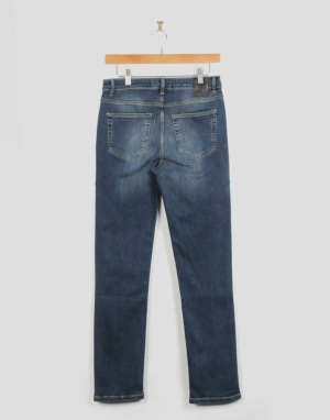 Route One Skinny Fit Boys Jeans - Mid Wash