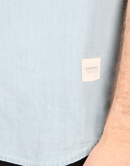 Wemoto Lamb S/S Shirt - Light Blue