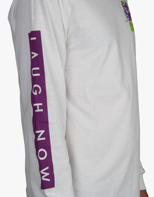 DGK Laugh Now Cry Later L/S T-Shirt - White