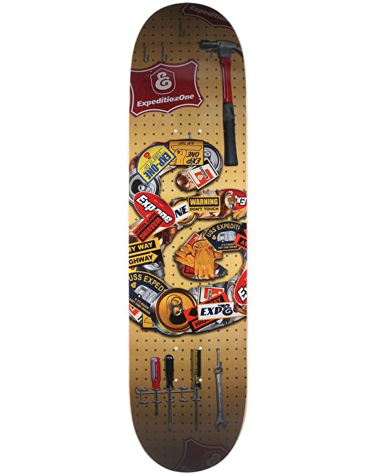 Expedition One Garage E Team Deck - 8.06""