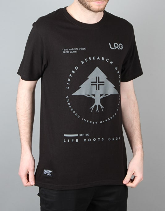 LRG RC Pinnacle T-Shirt - Black
