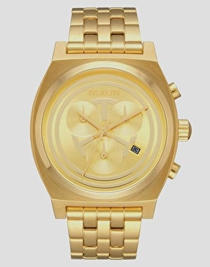 Nixon x Star Wars Time Teller Chrono Watch - C-3PO Gold