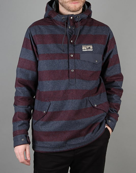 Patagonia Reclaimed Wool Snap Jacket - Oxblood Red