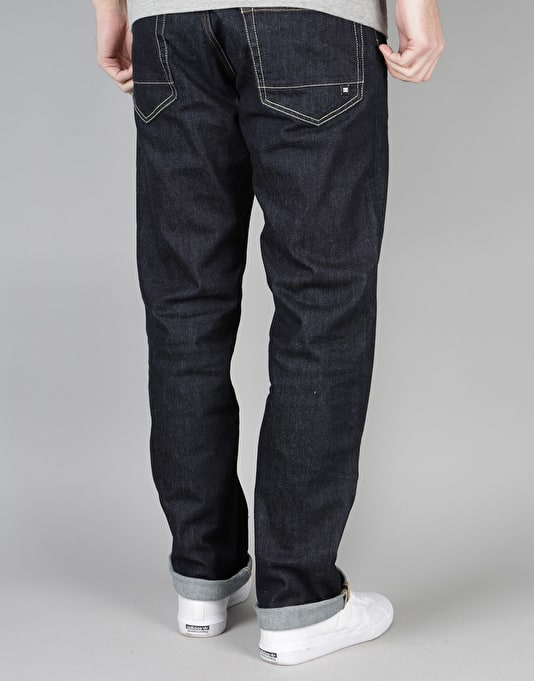 DC Worker Roomy Jeans - Indigo Rinse