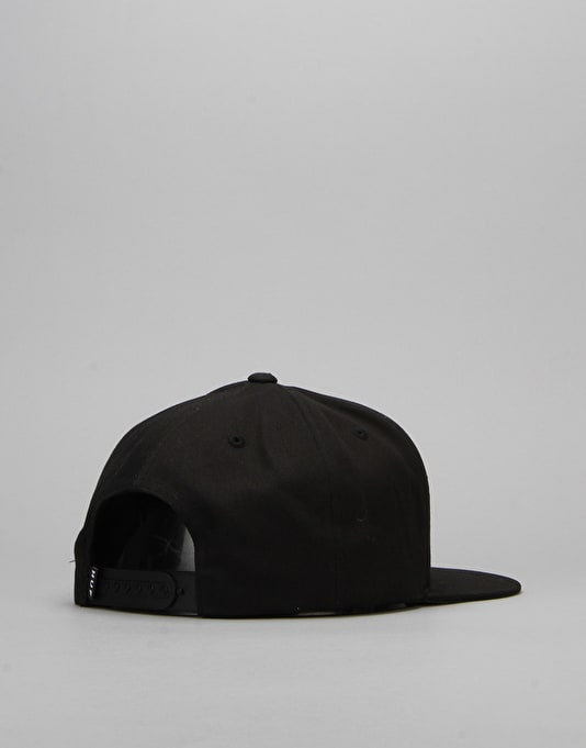 HUF x Ty Dolla $ign Swords Triple Triangle Snapback Cap - Black