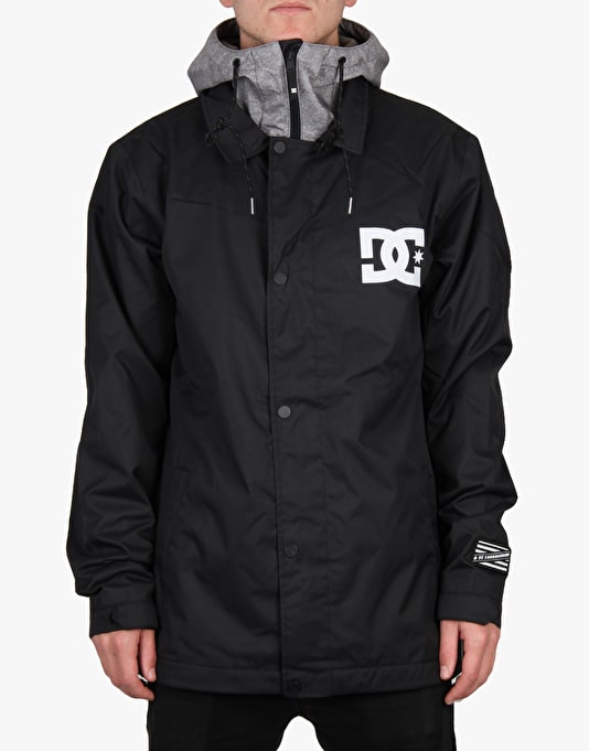 DC Cash Only 2016 Snowboard Jacket - Anthracite