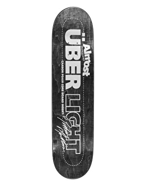 Almost Mullen Über Light Silver Ops Pro Deck - 8